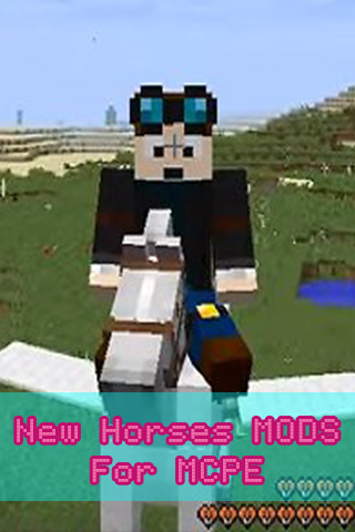 New Horses MODS For MCPE