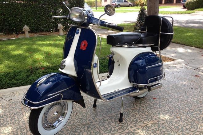 1965 Vespa Scooter 3 Speed Hire Miami