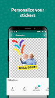 screenshot of Sticker Maker - Sticker Studio