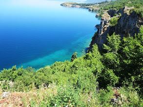 Photo: Kuvankaunis näkymä Ohrid-järvelle tämäkin