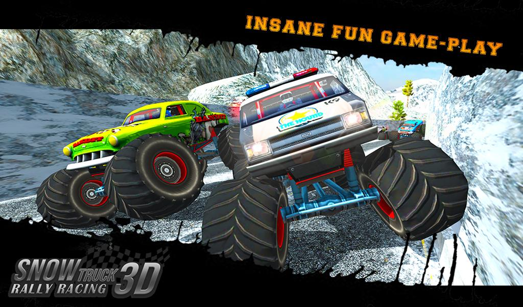 Snow Racing Monster Truck Android Apps On Google Play