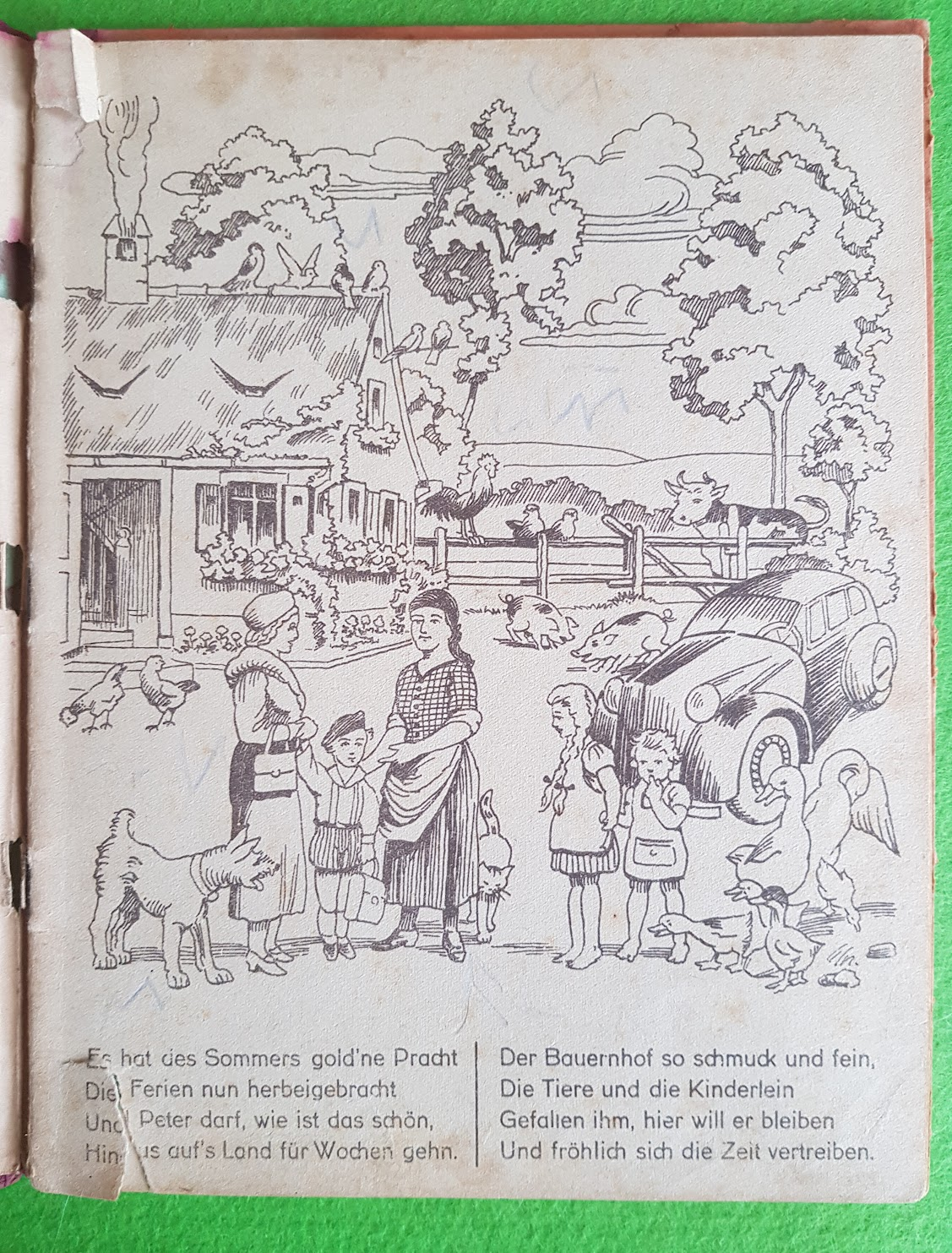 Ferien auf dem Lande, Kinderbuch, 1935