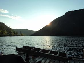 Photo: Sun is setting.