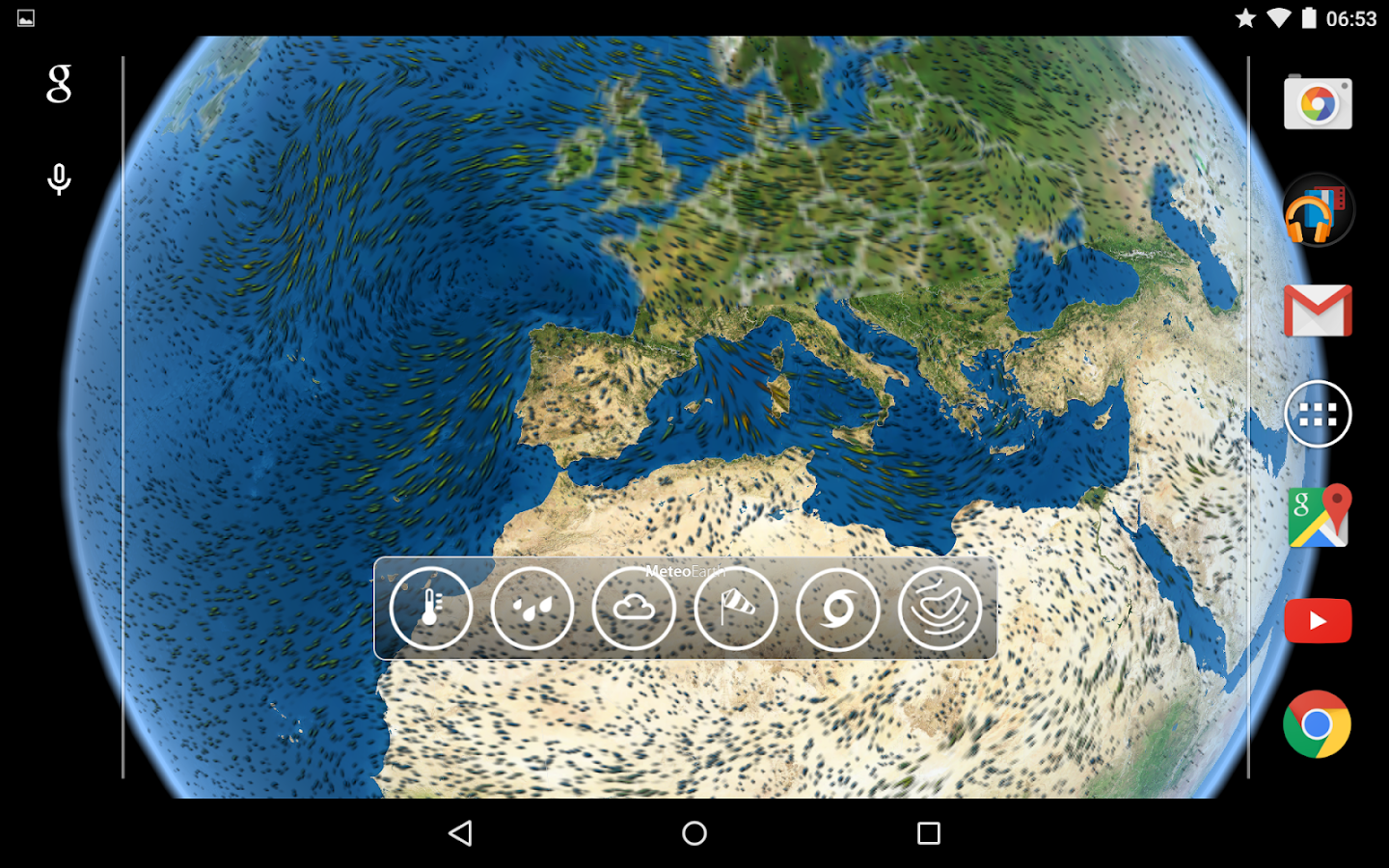 MeteoEarth- screenshot