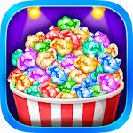 Popcorn Maker - Yummy Rainbow Popcorn Food Icon