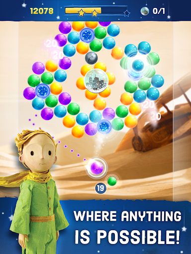 The Little Prince - Bubble Pop скачать на планшет Андроид