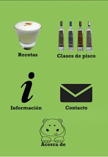 Recetas con Pisco - náhled