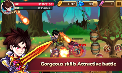 Brave Fighter MOD: Demon Revenge (Free Purchases) 1