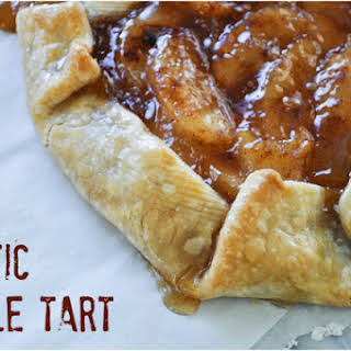 Rustic Apple Tart.