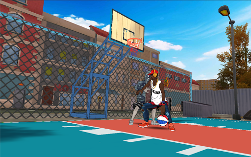 Street Dunk 3 x 3 Basketball 1.4.3.12 screenshots 3