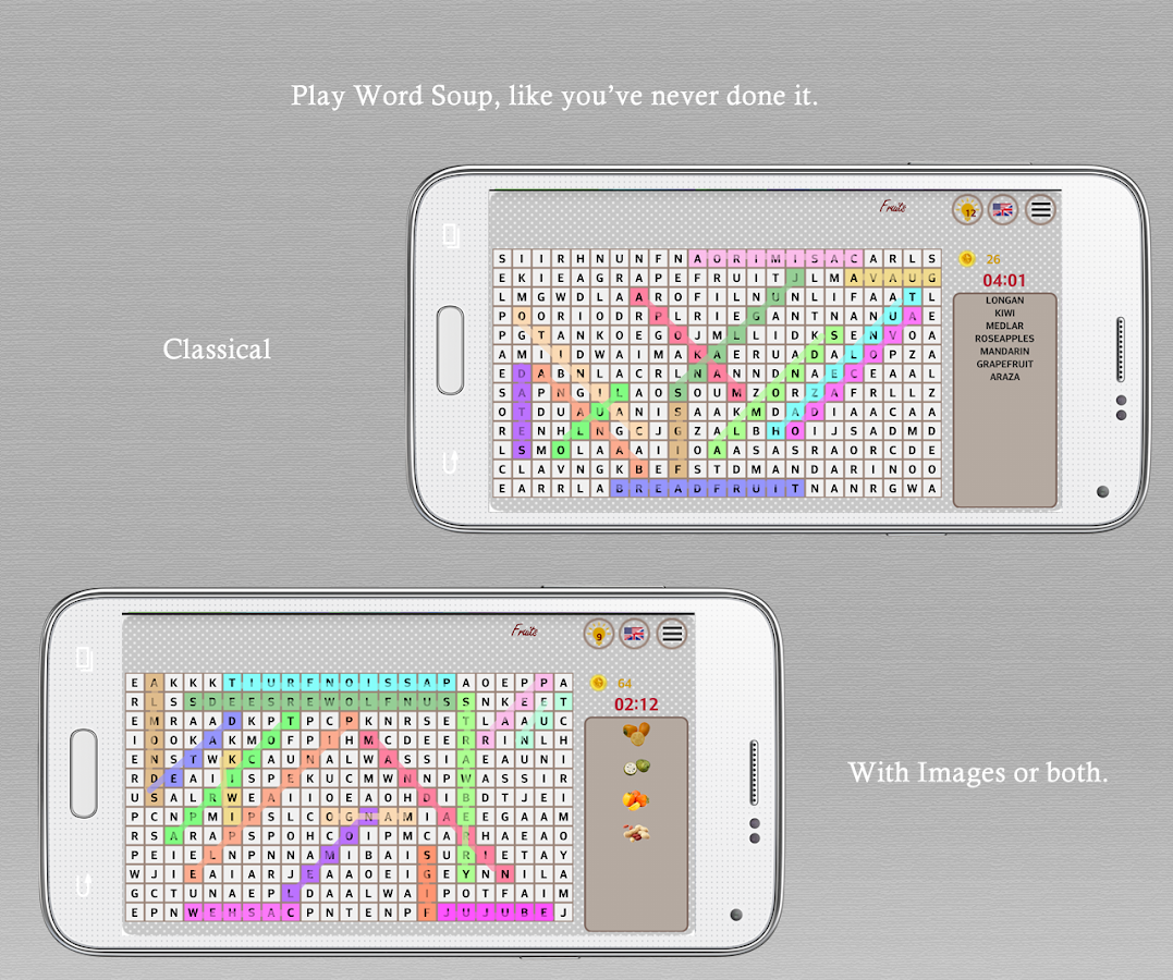 word search puzzle scrambled games letter free android apps