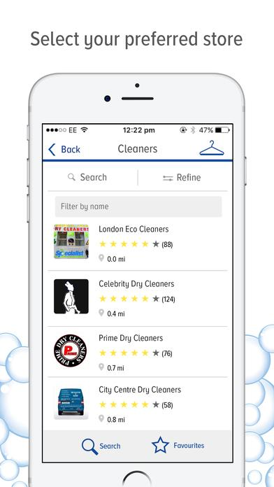 The Dry Cleaner App- screenshot