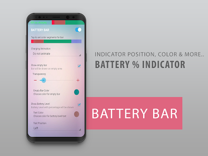 Battery Bar - Energy Bar - Power Bar Screenshot