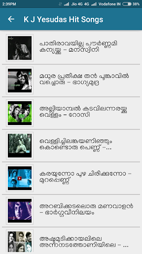 Malayalam Evergreen Songs ss2