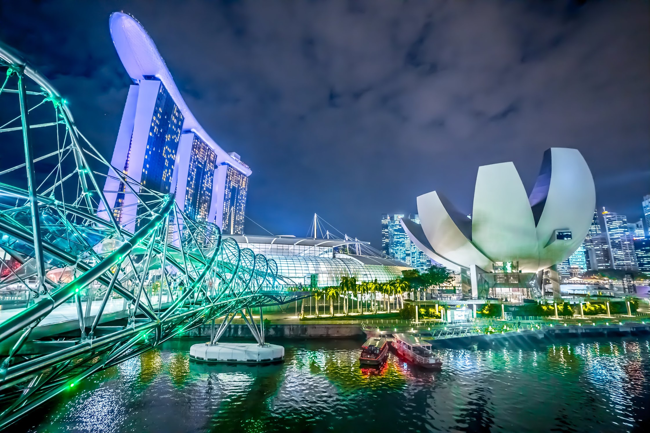 Singapore Helix Bridge2
