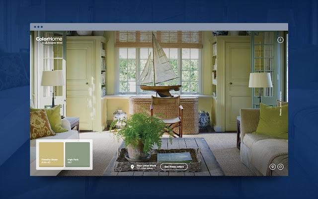 Benjamin Moore Color Home