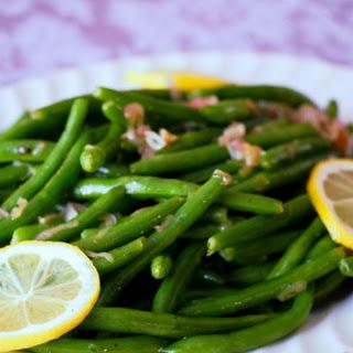 Garlic Green Beans.