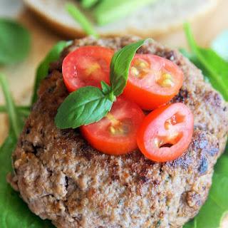 Sundried Tomato Basil Burgers