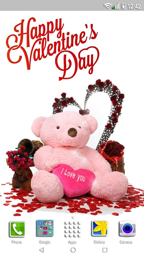 Valentines Day Live Wallpaper 💖 Love Background - Android Apps on ...