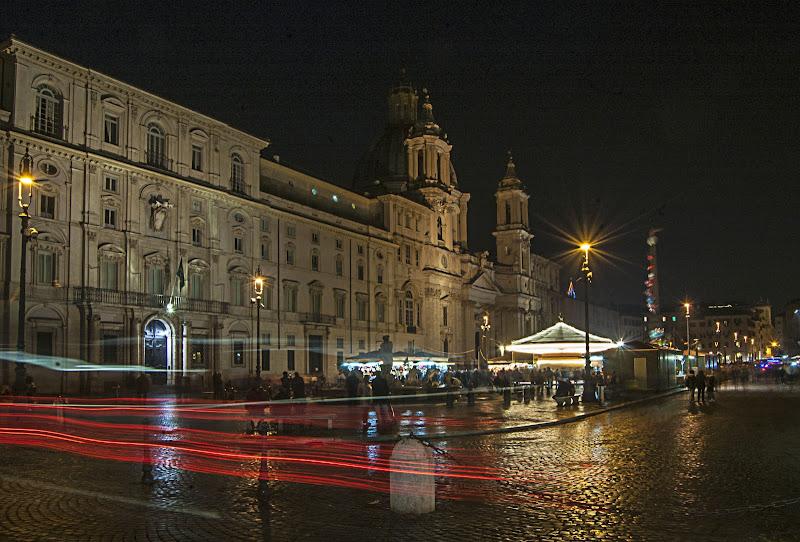 Scie di luce romane di albertocastagnaphoto