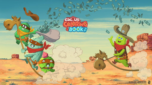 Cactus Coloring Book Free Unreleased Apps Apk Download For Android