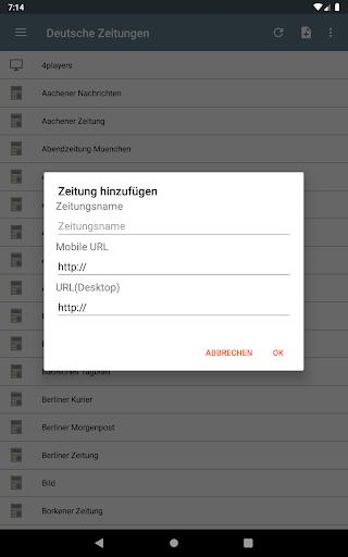 Deutsche Zeitungen 2.2.3.5.6 screenshots 21