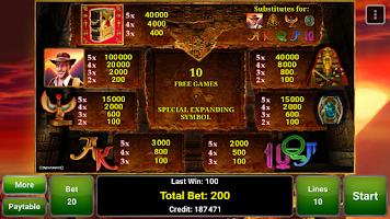 Screenshot of Book of Ra™ Deluxe Slot