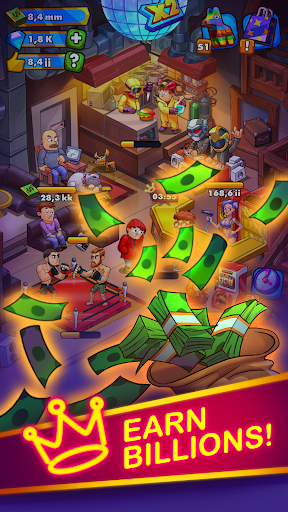 Party Clicker u2014 Idle Nightclub Game 1.4.11 screenshots 3