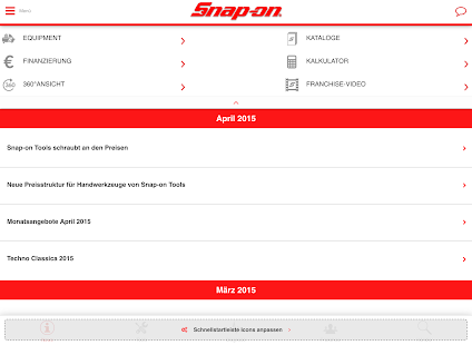 Snap-On Tools Deutschland- screenshot thumbnail