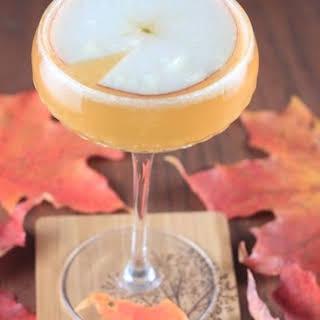 Fall Applejack Cocktail.