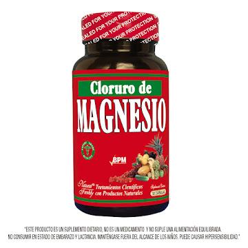 Cloruro De Magnesio   100/70Mg Fco.x50Cap. NAT Magnesio Vitamina D