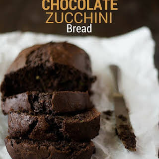 Healthy Chocolate Zucchini Bread.