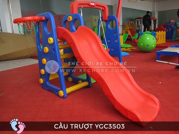 Cầu trượt trẻ em đa năng YGC-3503 1