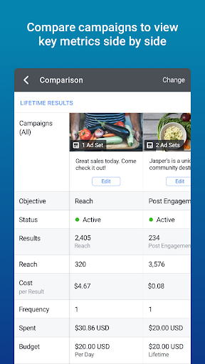 Facebook Ads Manager screenshot 3