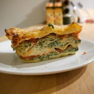 Vegetarian Ricotta-Spinach Lasagna