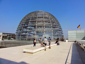 Photo: Kuppel des Reichstagsgebäudes