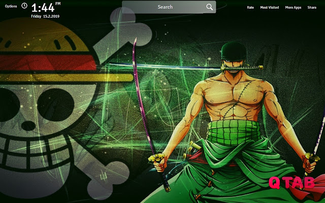 Zoro One Piece Wallpapers Theme New Tab