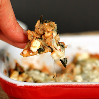 Hearty Hot Spinach Dip