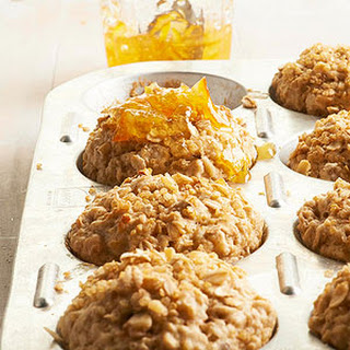 Toasty Whole Grain Orange Muffins