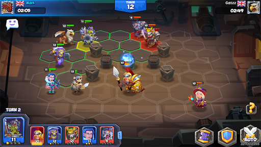 Tactical Monsters Rumble Arena -Tactics & Strategy 1.10.8 screenshots 24