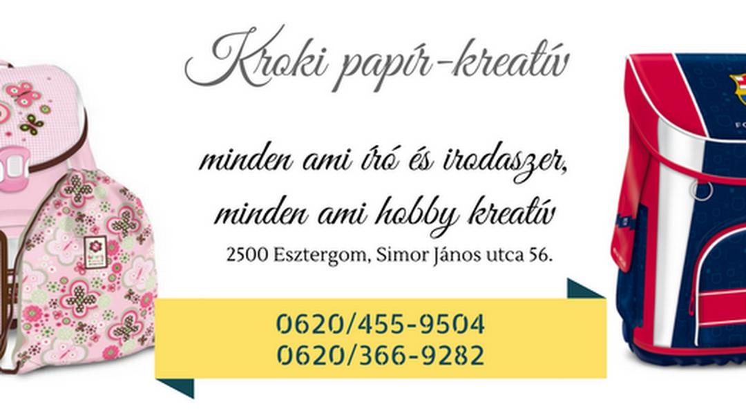 b349b9c9fe8b Kroki Papír - Kreatív üzlet - Írószerbolt itt: Esztergom