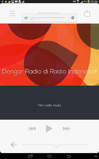 Radio Indonesia all Indonesian