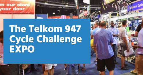 Telkom 947 Cycle Challenge EXPO : Ticketpro Dome