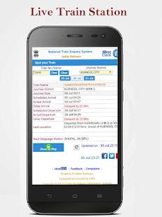 eRail PNR Status IRCTC - náhled