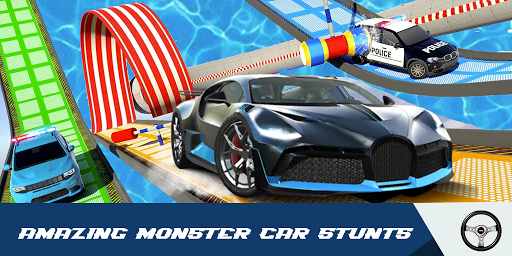 Car Stunts Racing 3D - Extreme GT Racing City android2mod screenshots 3