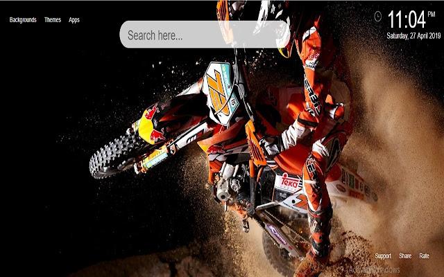 Motocross Wallpaper HD New Tab