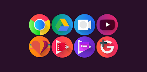 Graby Spin - Icon Pack Apps til Android screenshot