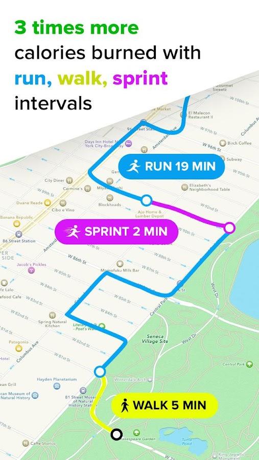 تطبيق Running for Weight Loss دليلك الرياضي للجري