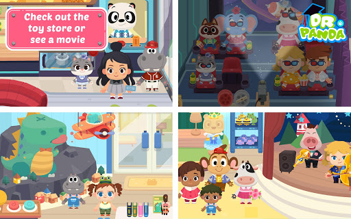 Dr. Panda Town: Mall 1.2.4 screenshots 10