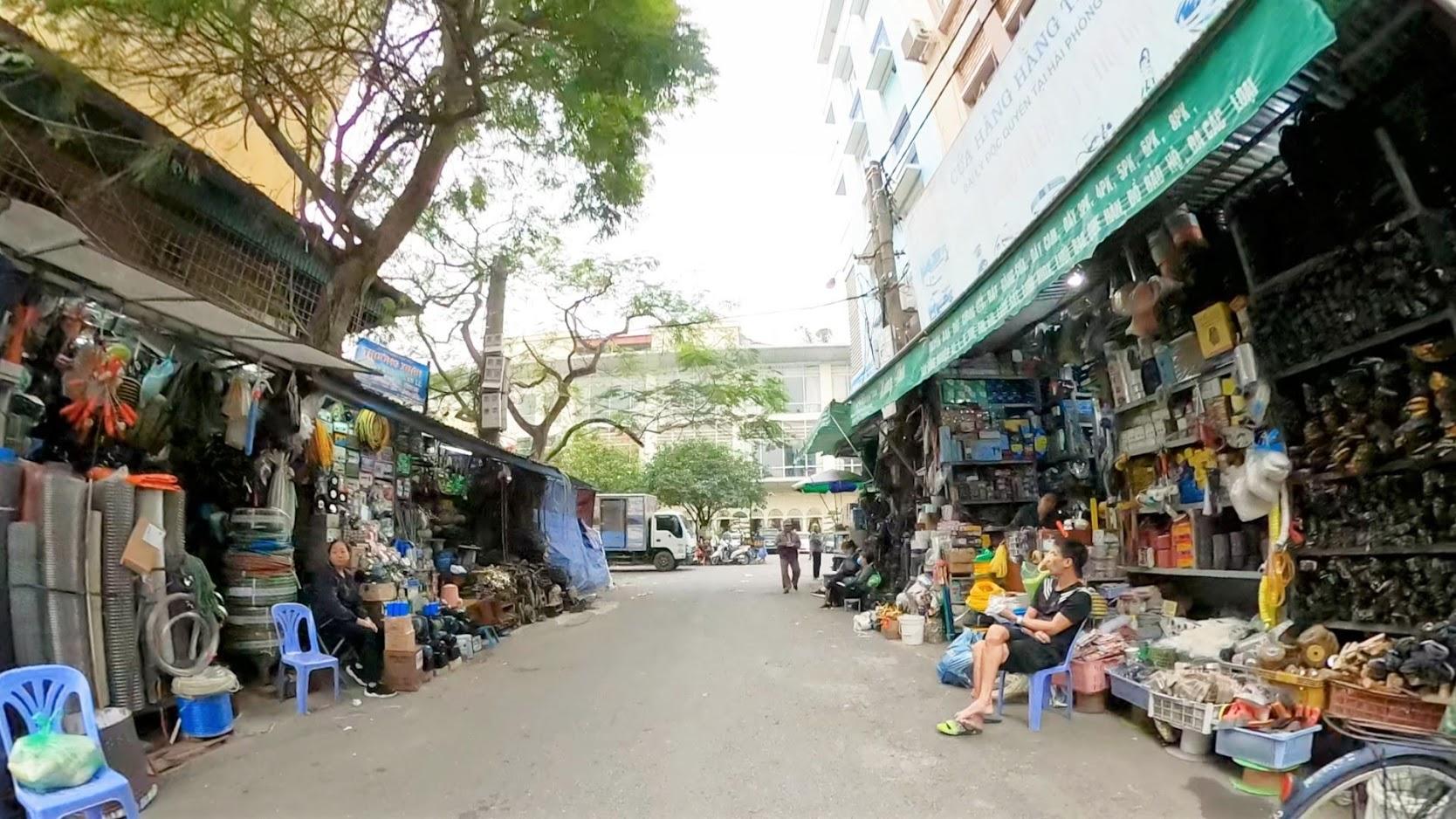 Những khu phố chợ Sắt ở Hải Phòng năm 2020 4